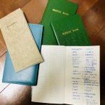 【雑記】測量野帳から革の単語帳へ